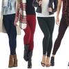 Women's Fleece Leggings (5-Pack)