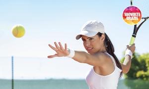 Albavilla Sport Center: 3 o 5 lezioni di tennis o squash da Albavilla Sport Center (sconto fino a 83%). Valido in 2 sedi