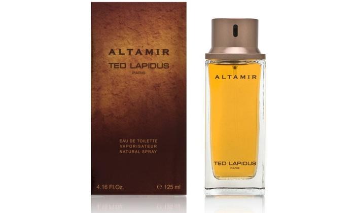 De Eau Toilette Ted Pour Homme Altamir 125ml Lapidus xBedrCo