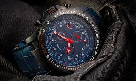 Montre Chronogarphe Quartz Suisse de la marque Morphic M36 Series