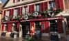 Alsace : chambre double Confort avec pdj, spa et menu en option