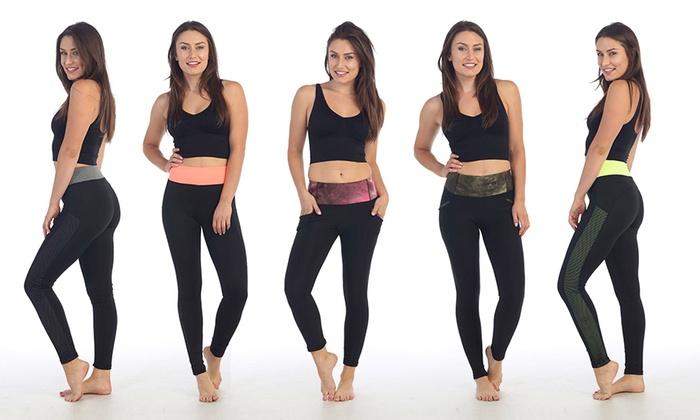 Women's Tie-Dye Activewear Leggings