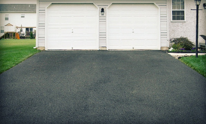 Zeal-Tek - Stittsville: Driveway Sealcoating for Up to 575 or 625 Square Feet from Zeal-Tek (Up to 57% Off)