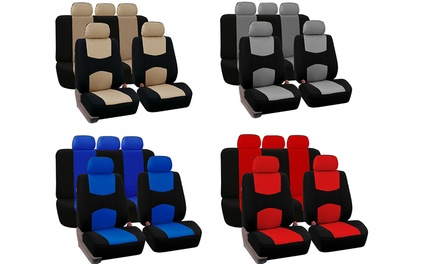 $24 for a 9-Piece Universal Car Seat Cover Set
