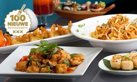 3 gangen keuzemenu als lunch of diner, bij Royal Thai nabij het Leidseplein (vanaf 2 pers.)