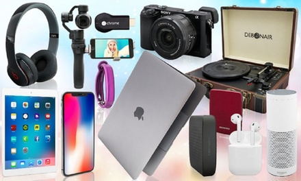 Mystery Gift with a Chance to Receive iPhone X, MacBook, Vibe Slick Headphones, Jawbone UP2, Beats Solo2 or Amazon Alexa