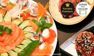 Sushi Nodawa: Sushi Nodawa – Ipiranga: rodíziojaponêsclássico ou prime com sobremesa para 1, 2 ou 4 pessoas