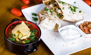 Restauracja Picante: Meksykańskie smaki: dowolna zupa i burrito od 27,99 zł w Restauracji Picante w Gdańsku (do -49%)