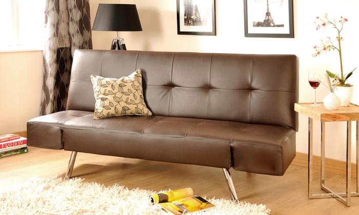 Durban Deep Padded Sofa Groupon Goods