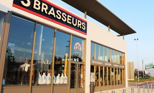 Menu découverte avec plat, dessert et boisson au choix pour 2 ou 4 dès 29,90 € au restaurant Les 3 Brasseurs Terville