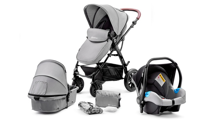 Kinderkraft Three-in-One MOOV Stroller With Free Delivery