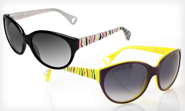 Wild Pair Sunglasses: $39 for Wild Pair Sunglasses by Betsey Johnson ($225 List Price). Two Colors Available.