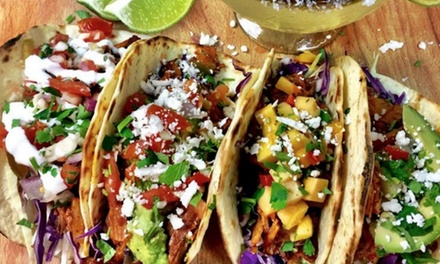 $10.75 for $25 Worth of Mexican Food and Drinks at Rio Bravo Tacos & Tequila