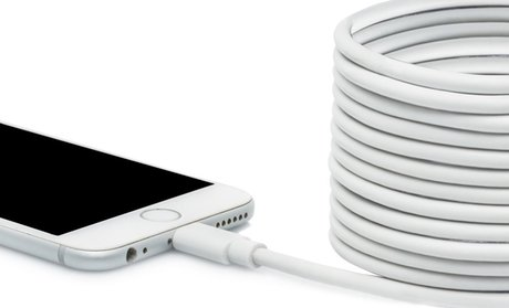 10ft. Apple-Certified Lightning Cable (1-, 2-, or 3-Pack)