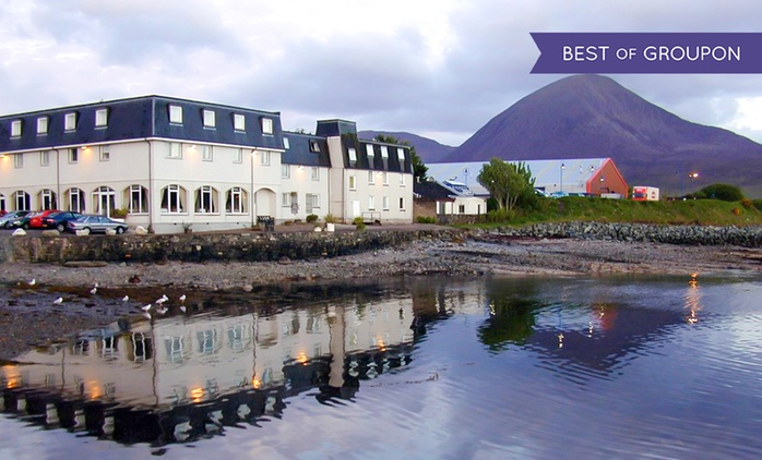 Isle of Skye: 1 to 3 nights for Two with Breakfast and Option for Dinner and Wine at the Dunollie Hotel