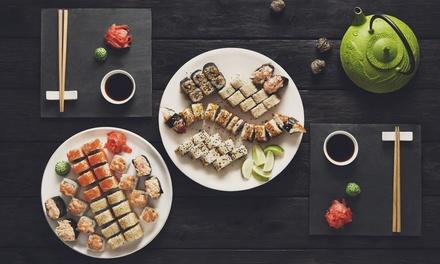 Menu sushi All you can eat a scelta tra pranzo o cena, per 2 o 4 persone, da Sushi Sun (sconto fino a 56%)