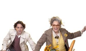 """היכל התרבות נתניה: ההצגה המצליחה """"הרולד ומוד"""" בהיכל התרבות נתניה ב-59 ₪ בלבד לכרטיס! דרמה קומית מרגשת של תיאטרון ב""""ש עם תום אבני וליאת גורן"""