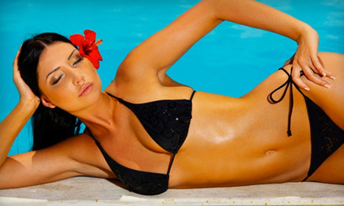 Sun Spa - Multiple Locations: UV Tanning, Spray Tanning, or Red-Light Therapy at Sun Spa (Up to 65% Off)