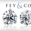 Fey & Co. Jewelers - Multiple Locations: $199 for One Pair of Quarter-Carat Diamond Stud Earrings from Fey & Co. Jewelers ($400 Value)