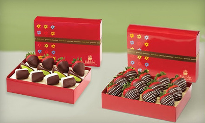 Edible Arrangements - Summit Lawn Estates: Assorted Chocolate-Dipped Fruit or Semisweet-Chocolate-Dipped Strawberries from Edible Arrangements (Up to 54% Off)