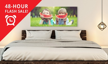 .95 for a Personalised Landscape Canvas Print Don't Pay Up to $289