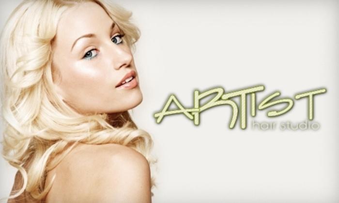 Artist Hair Studio - Tea: $18 for a Haircut, Style, and Eyebrow Wax at Artist Hair Studio in Tea ($37 Value)