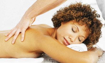 Massage Packages with Salt Scrub and Mini Facial  at Chuck Thissen LMT (Up to 53% Off)