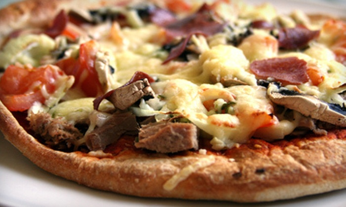 Woodbridge Pizzeria - Multiple Locations: $10 for $20 Worth of Pizza, Chicken, and Drinks at Woodbridge Pizzeria