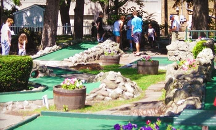 Parkside Diner & Miniature Golf - Seabreeze: $5 for Miniature Golf for Two at Parkside Diner & Miniature Golf ($11 Value)