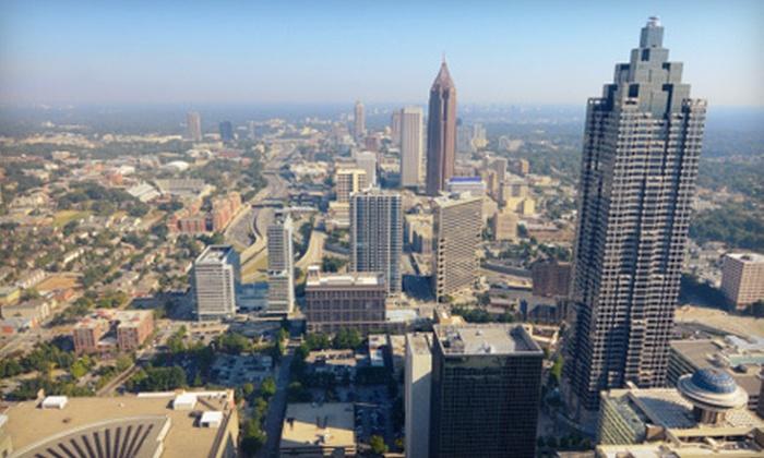 Atlanta Sightseeing Bus Tours - Northeast Atlanta: Five-Hour Atlanta Sightseeing Tour for 1, 2, 4, or 10 from Atlanta Sightseeing Bus Tours (Up to 66% Off)