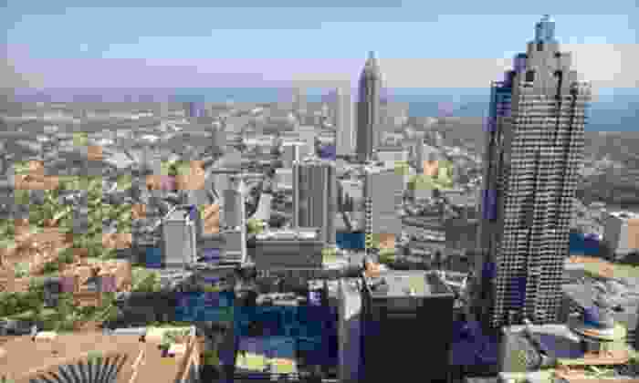 Atlanta Sightseeing Bus Tours - Northeast Atlanta: Five-Hour Atlanta Sightseeing Tour for 1, 2, 4, or 10 from Atlanta Sightseeing Bus Tours (Up to 66% Off)