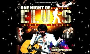 ATG Tickets: One Night of Elvis: Lee 'Memphis' King Overview (Elvis Presley Tribute), Aylesbury and Liverpool (Up to 52% Off)