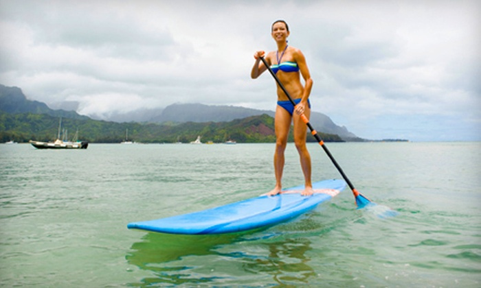 Paddle Surf RI - Providence: One-Hour Beginner Standup Paddleboarding Lesson for Two or Four from Paddle Surf RI (59% Off)