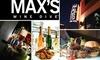 Max's Wine Dive Austin - Downtown: $25 Ticket to Black Door Argentinean Wine Tasting ($50 Value)