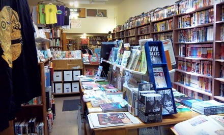 $15 Groupon to The Escapist Comic Bookstore - The Escapist Comic Bookstore in Berkeley
