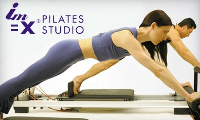 IM=X Pilates Studio - Greenwood: $49 for Private Pilates Intro Class and Four Additional Classes at IM=X Pilates Studio in Greenwood ($205 Value)