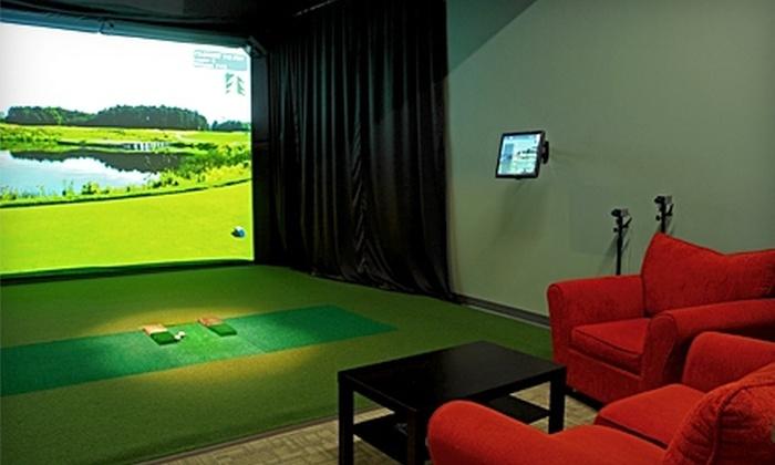 LakeShore Links Indoor Golf - Toronto: $45 for Three Hours in a Golf Simulator at LakeShore Links Indoor Golf