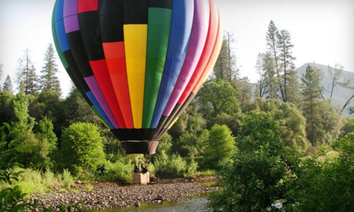 Sky Drifters Hot Air Ballooning - San Jose: $195 for a Sunrise Balloon Ride for Two from Sky Drifters Hot Air Ballooning in Rancho Murieta ($390 Value)
