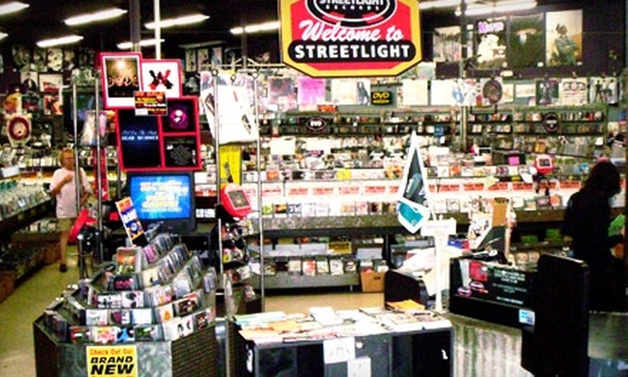 Streetlight Records - Del Mar: $10 for $20 Worth of Used DVDs, CDs, Vinyl, and More at Streetlight Records