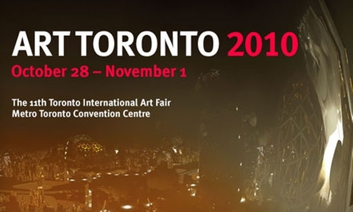 Toronto International Art Fair - Downtown Toronto: One Ticket to the Toronto International Art Fair 2010 on October 31 and November 1. Choose from Six Ticket Options.