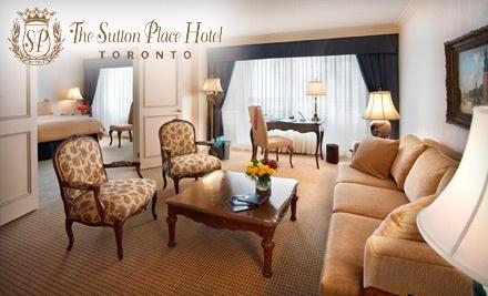 The Sutton Place Hotel - The Sutton Place Hotel in Toronto