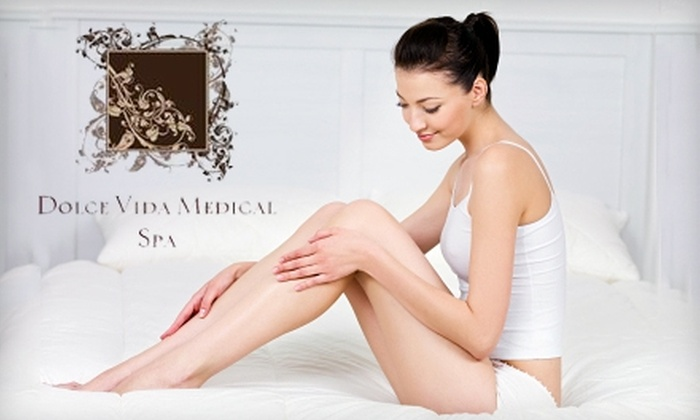 Dolce Vida Medical Spa - Multiple Locations: $184 for a Perfect Brazilian Hair-Removal Package at Dolce Vida Medical Spa