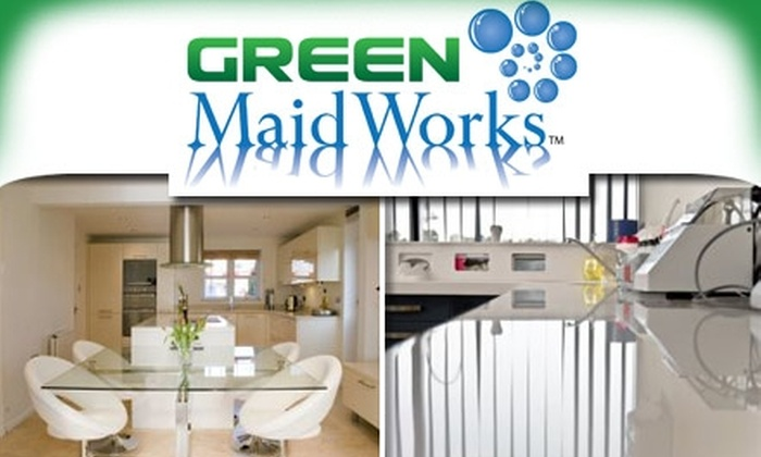 Green MaidWorks - Washington DC: $90 for Three Hours of Eco-Friendly House Cleaning from Green MaidWorks ($250 Value)