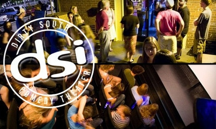 DSI Comedy Theater - Carrboro Central Business District: $10 for Two Tickets to a Friday or Saturday Show at DSI Comedy Theater ($20 Value)