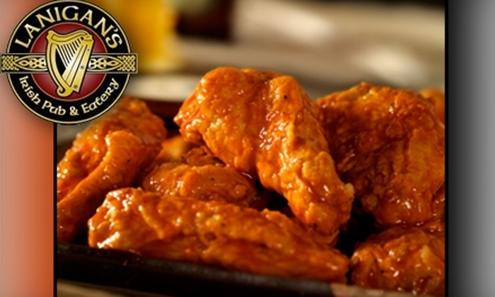 Lanigan's Irish Pub & Eatery - Youngstown: $7 for $15 Worth of Classic Irish Cuisine at Lanigan's Irish Pub & Eatery