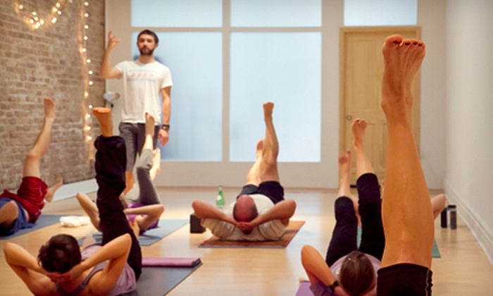 Power Yoga Chicago - Multiple Locations: $39 for 20 Hot Vinyasa Classes at Power Yoga Chicago ($260 Value)
