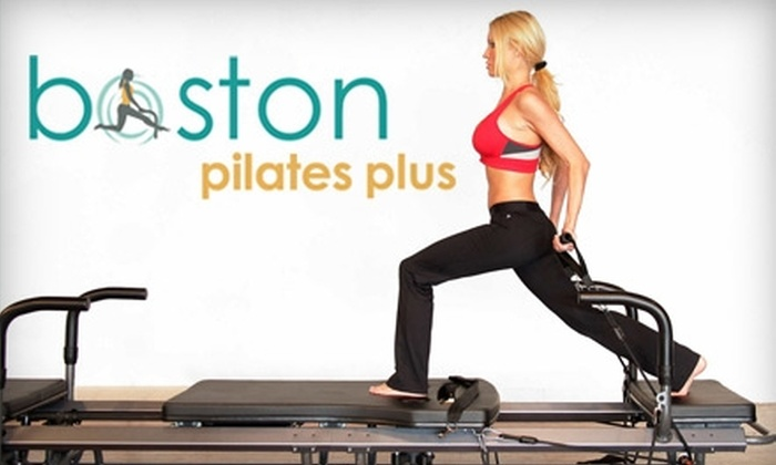 Boston Pilates Plus - Lexington: $30 for a Three-Class Pack of SPX Pilates Classes at Boston Pilates Plus in Lexington (Up to $87 Value)