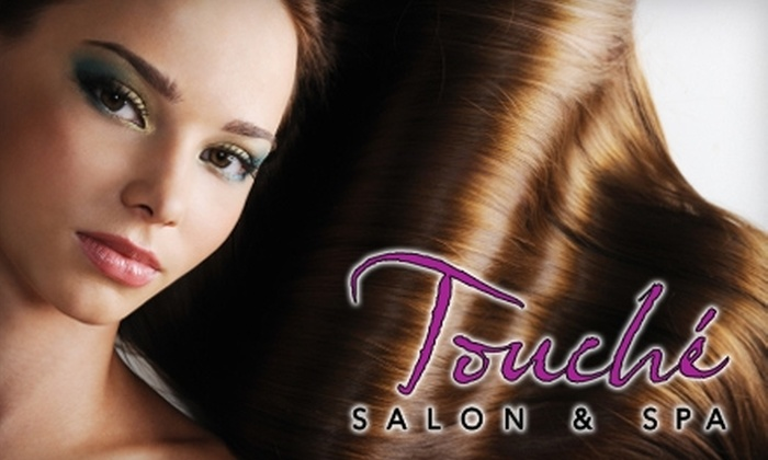 Touché Salon and Day Spa - Pasadena: $25 for Shampoo and Blow-dry Plus $20 Towards BoobooSheek Jewelry at Touché Salon and Day Spa ($60 Value)