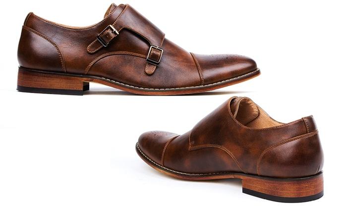 Signature Men S Monk Strap Dress Shoes