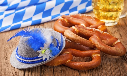 Oktoberfest for One or Two with Drinks, or VIP Package-One Admission at German American Society of Hollywood